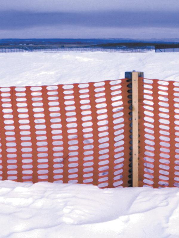 Barreras contra la nieve y la arena