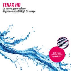 Geocomposito drenante High Drainage Tenax HD