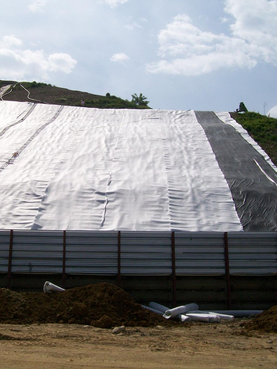 Geocomposito per il drenaggio Tenax SD