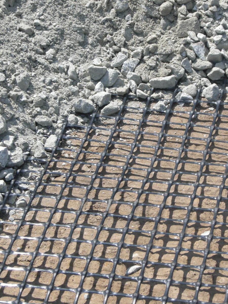 Geogriglie e geocompositi High Modulus per il rinforzo di base Tenax HM