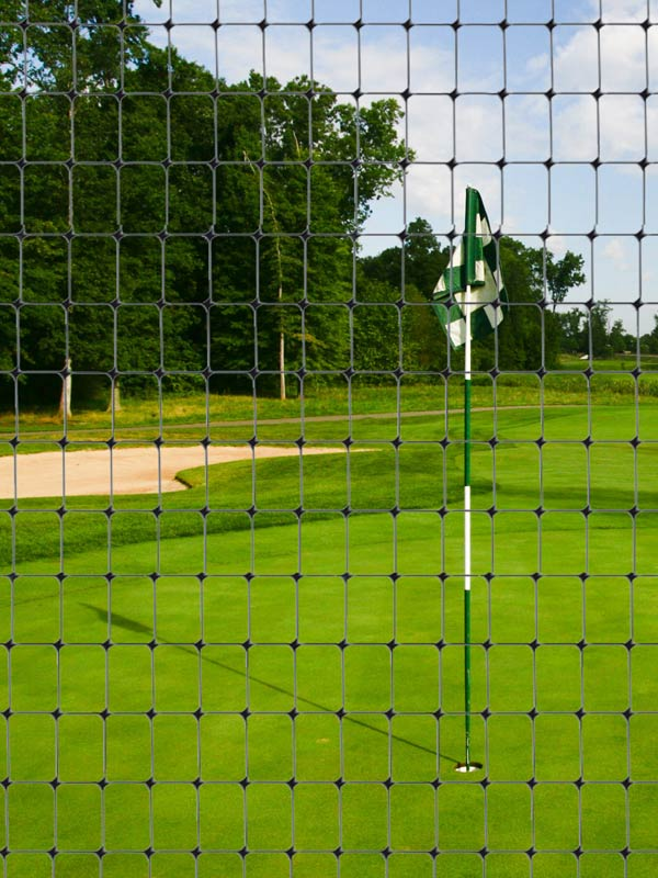 Nets for golf courses