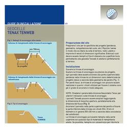 Procedura di posa geocelle per il controllo dell'erosione Tenax Tenweb