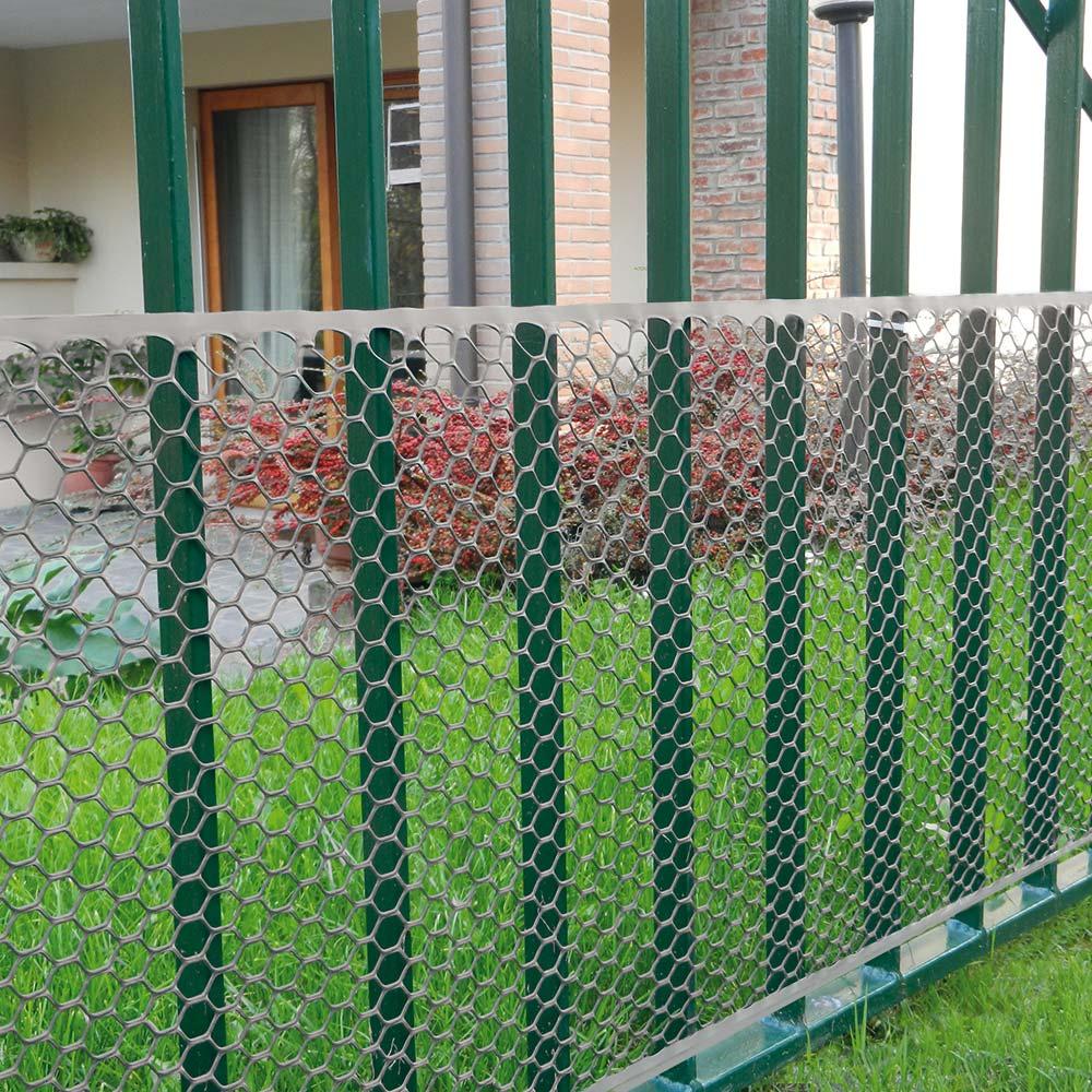 Rete Plastica Da Balcone.Exagon Reti In Plastica Tenax
