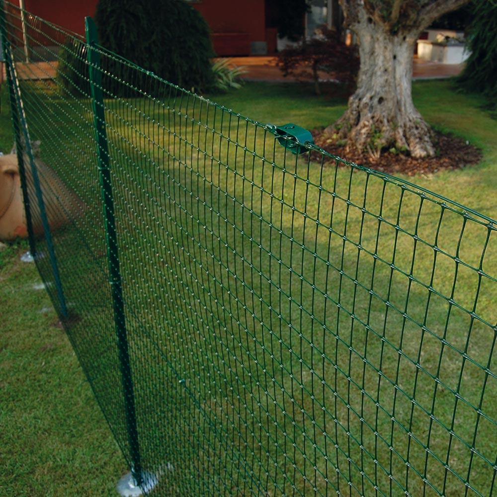Rete Di Recinzione Per Giardino.Rete Da Recinzione Rete Verde Per Recinzione Tenax