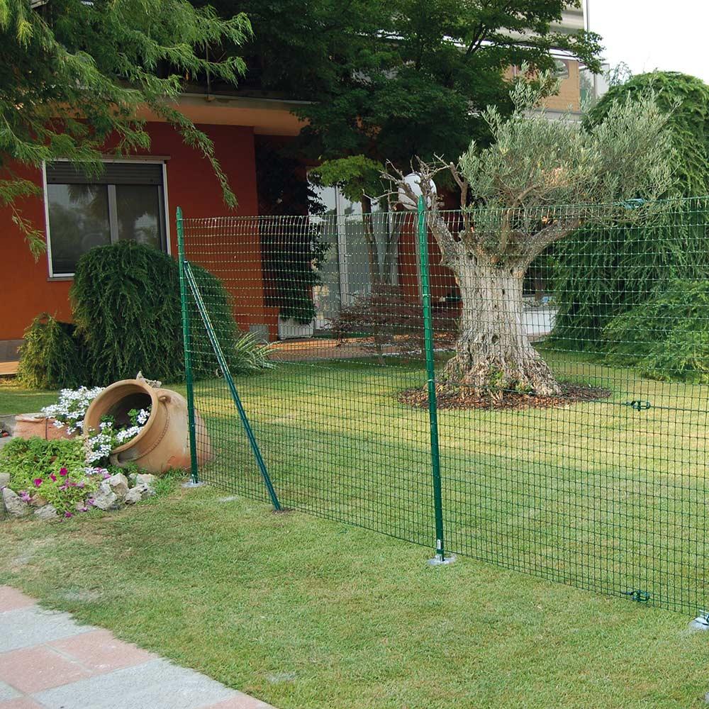 Recinzione Reti Per Giardino.Rete Da Recinzione Rete Verde Per Recinzione Tenax