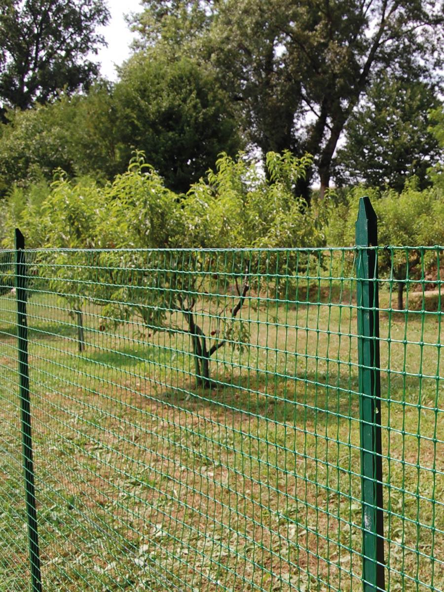 Rete Plastica Per Giardino.Rete Da Recinzione Rete Verde Per Recinzione Tenax