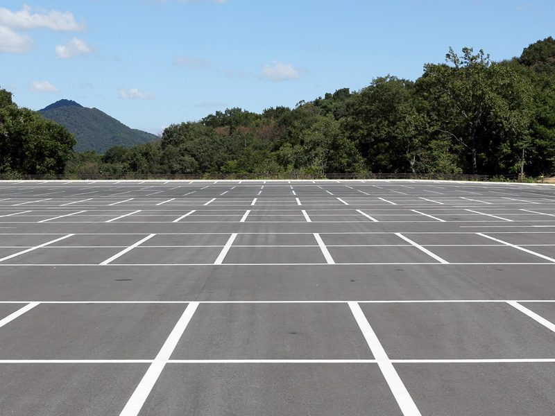 Base reinforcement for large areas and parkings Tenax Geosynthetics