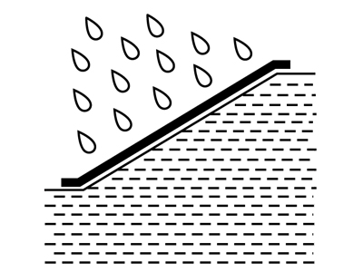 Tenax geosynthetics for erosion control