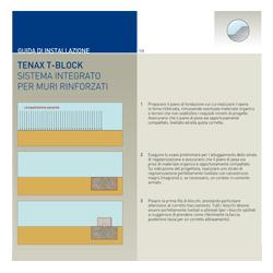 Procedura di posa Sistema Tenax T-Block
