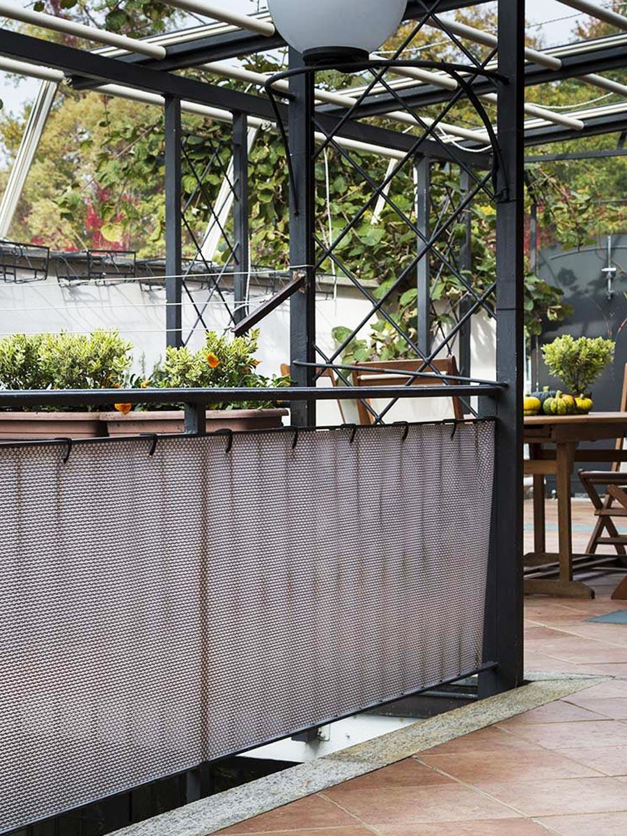 Schermatura decorativa recinzioni ringhiere Tenax TEXSTYLE PLUS