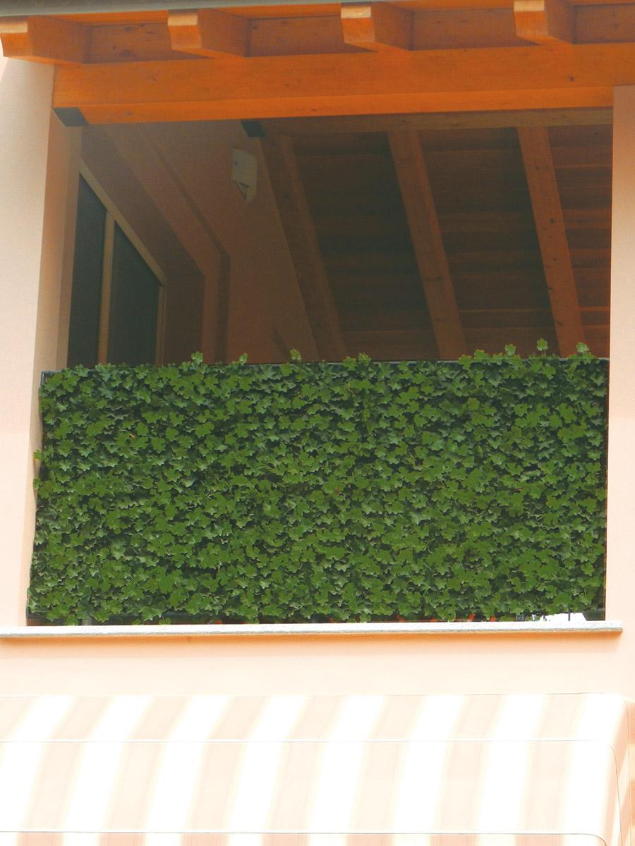 Barriere Antirumore Per Balconi siepe sintetica per schermatura totale. tenax.