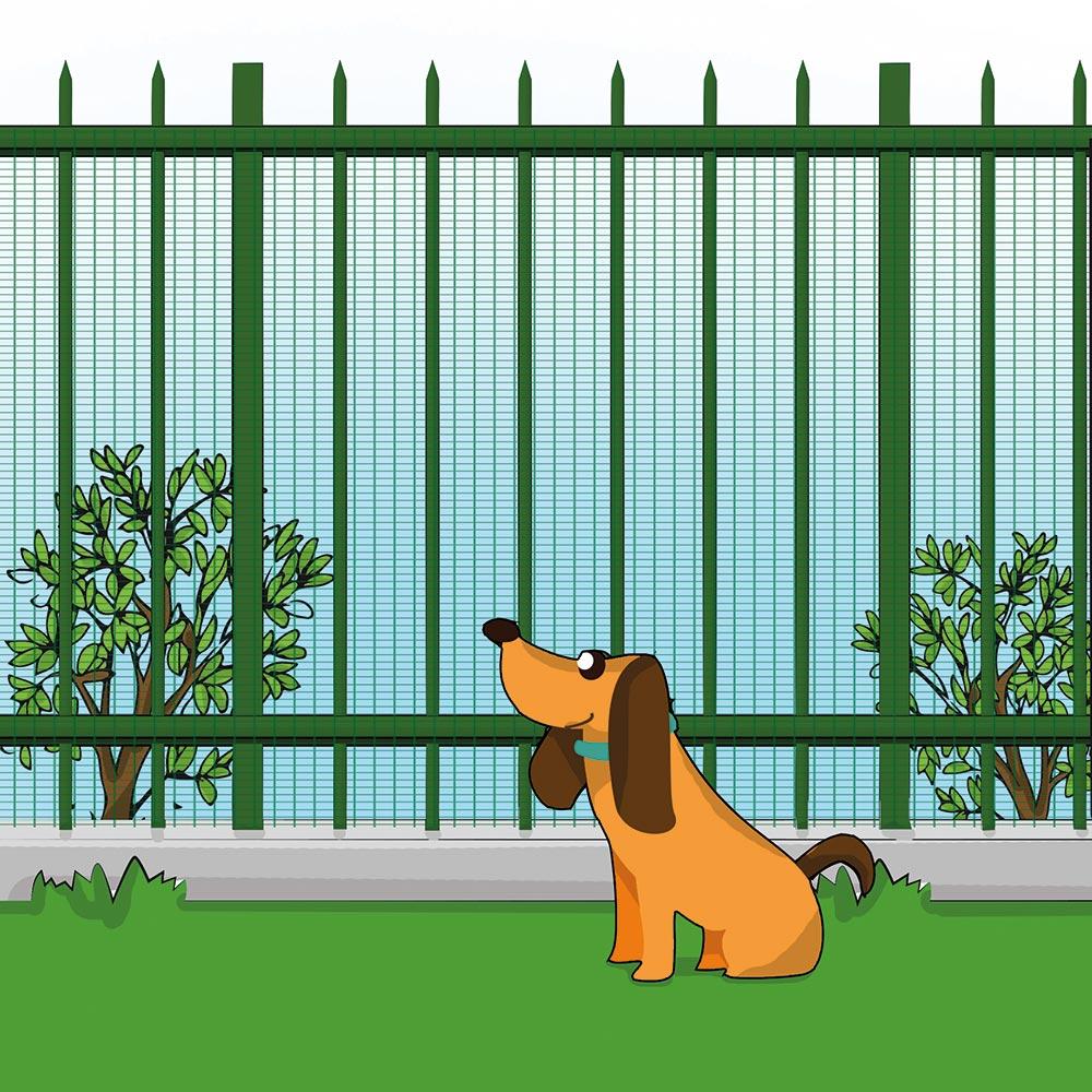Griglia salvaprato cane cancelletto dog barrier gate for Cassa parto per cani fai da te