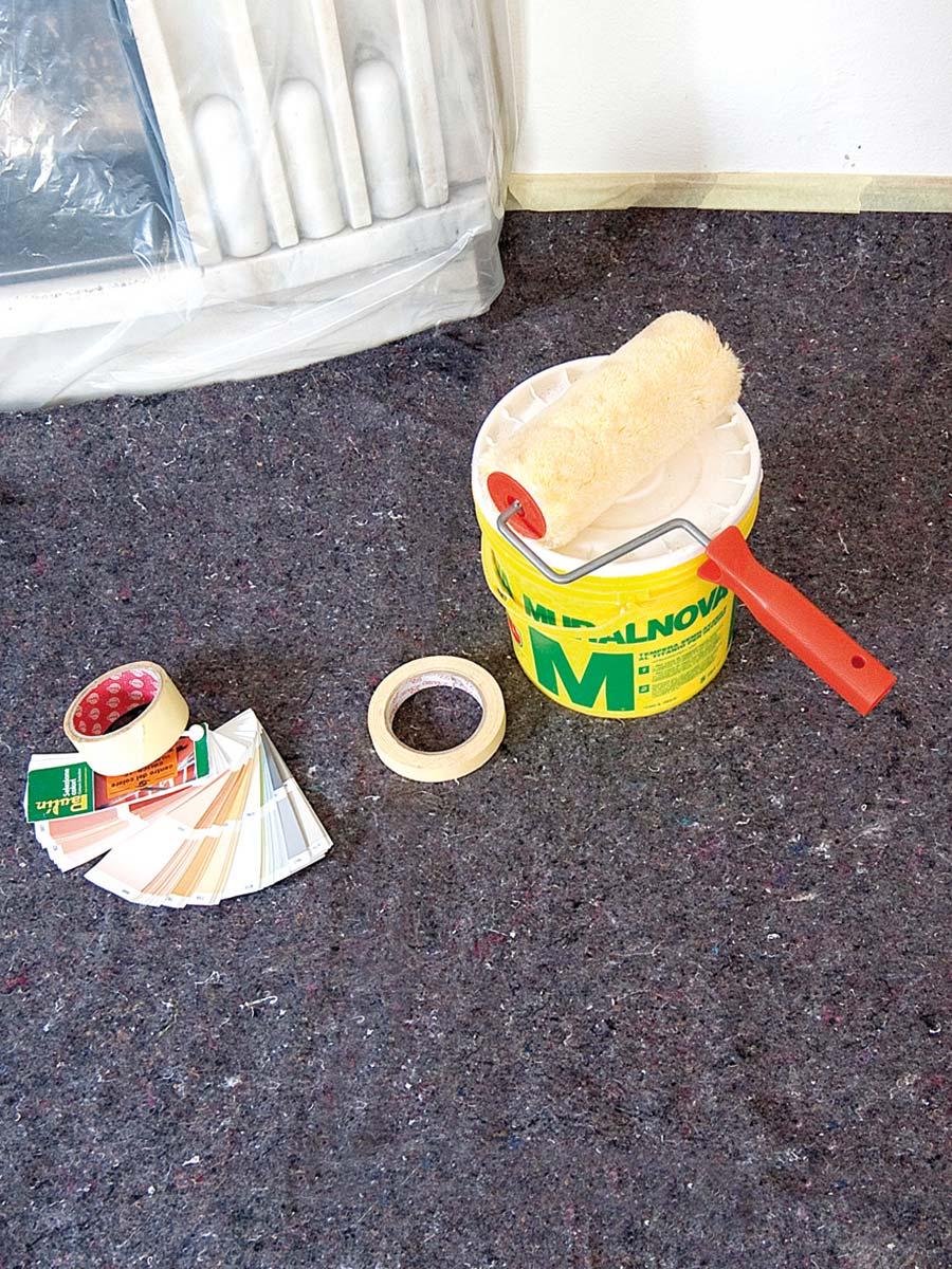 Protezione per pavimenti durante la tinteggiatura PAINTER PAD