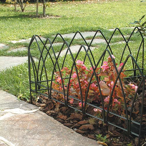Bordure giardino in ferro bordure aiuole plastica e simil for Bordure aiuole plastica