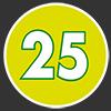 25 pezzi