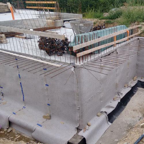 DP1 – Muri di fondamenta