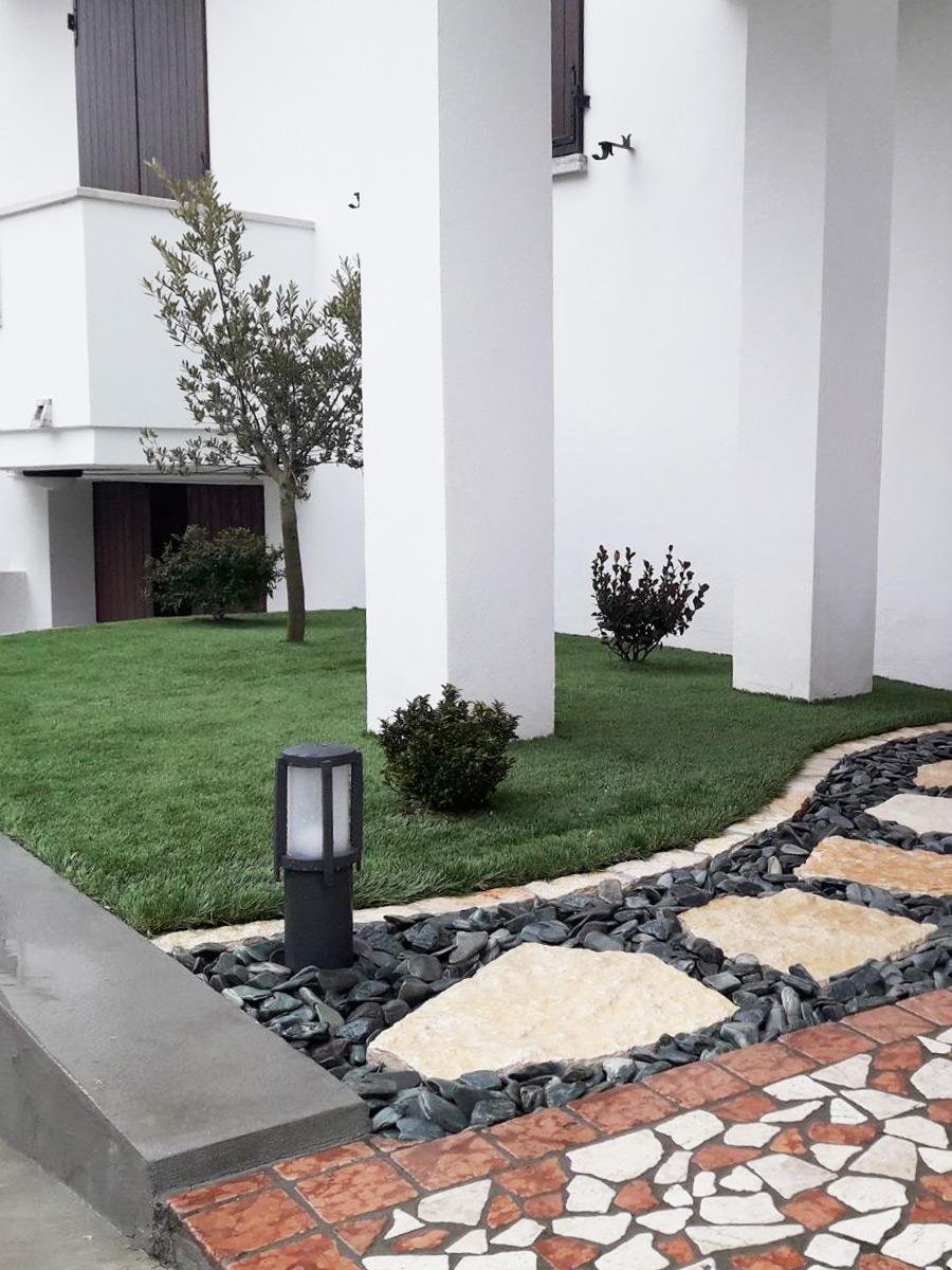 Prato sintetico IRISH MAT 40 - giardino privato