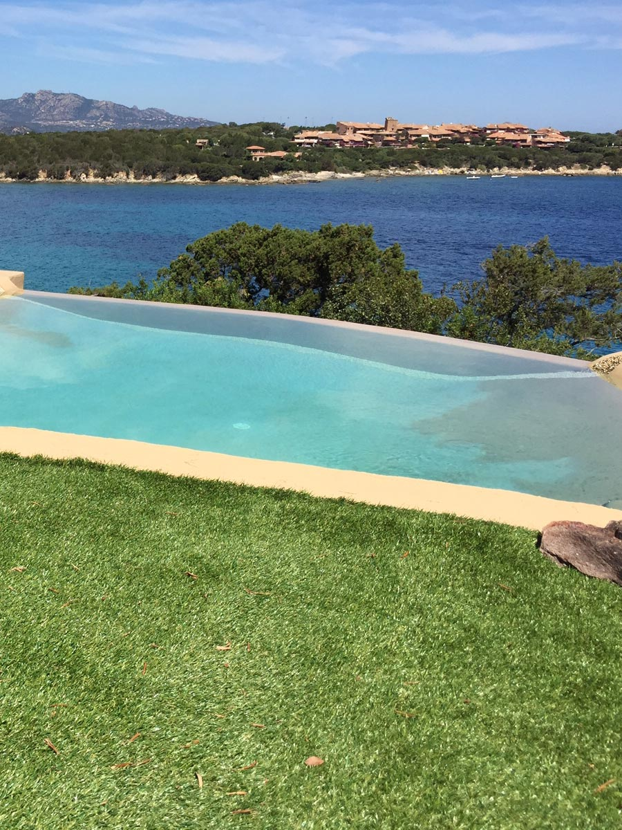 Prato sintetico IRISH MAT 40 - villa piscina giardino