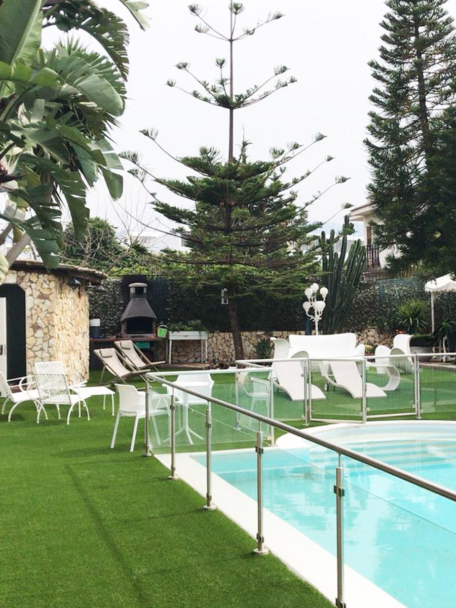 Prato sintetico IRISH MAT 40 - villa relax piscina giardino