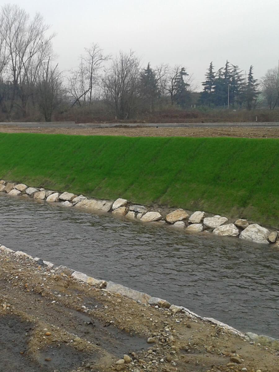 Geostuoia preseminata per il controllo dell'erosione Tenax Multimat P