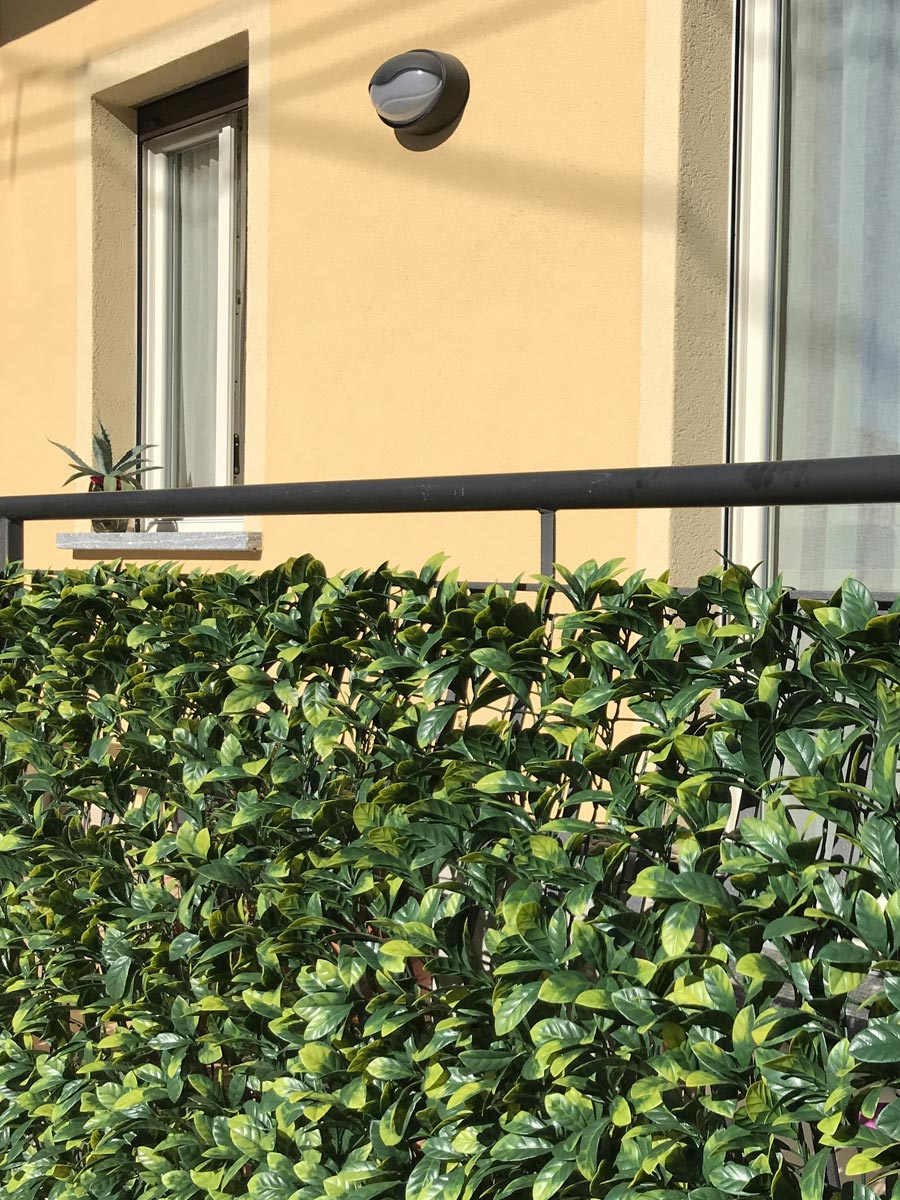 Barriere Antirumore Per Balconi siepe artificiale 3d | schermature decorative tenax divy 3d