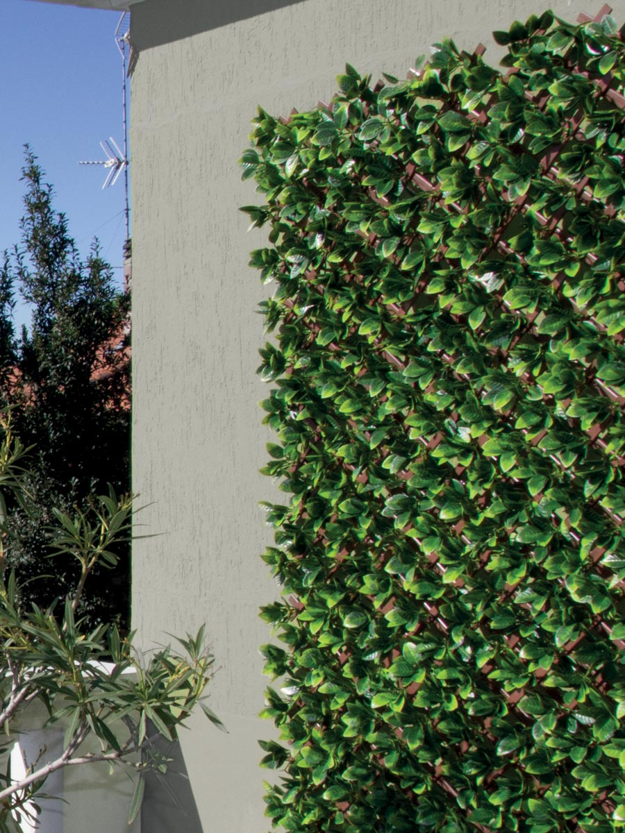 Divisori In Plastica Per Terrazzi siepe sintetica 3d | schermature decorative tenax divy 3d