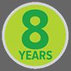 prati sintetici Tenax: garanzia 8 anni